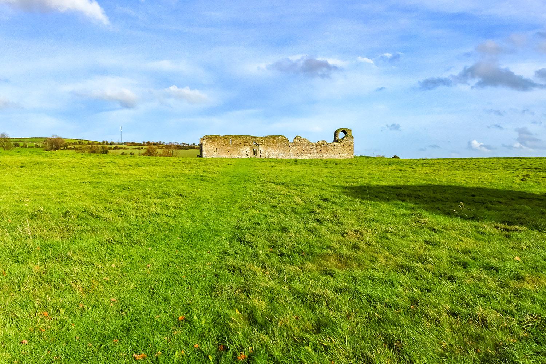 アイルランドの秘宝・キルケニーの城塞跡