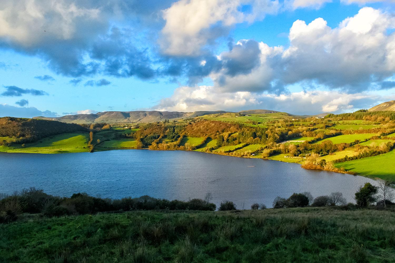 アイルランドの湖水地区、キャバン