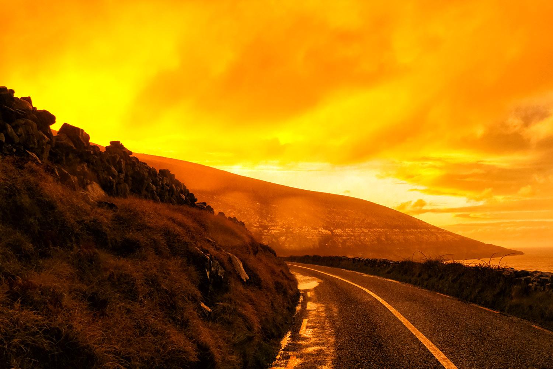 アイルランド・クレアの海岸