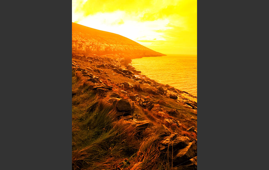 アイルランド、クレアの海岸