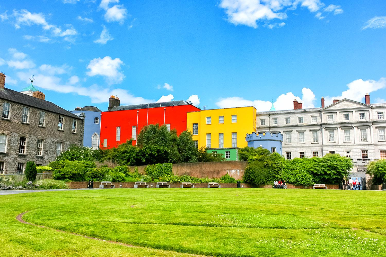 アイルランドの名城、ダブリン城