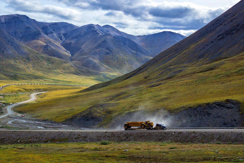 アメリカンシネマの世界、アラスカ州ノーススロープ