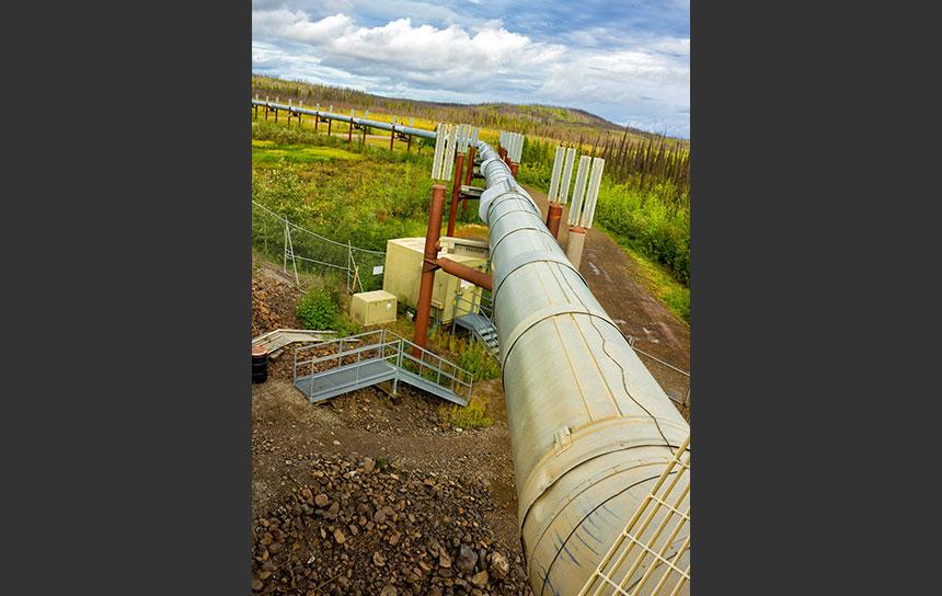 石油のパイプライン