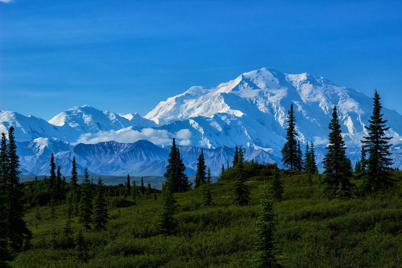 北アメリカの最高峰、デナリ・マッキンリー山