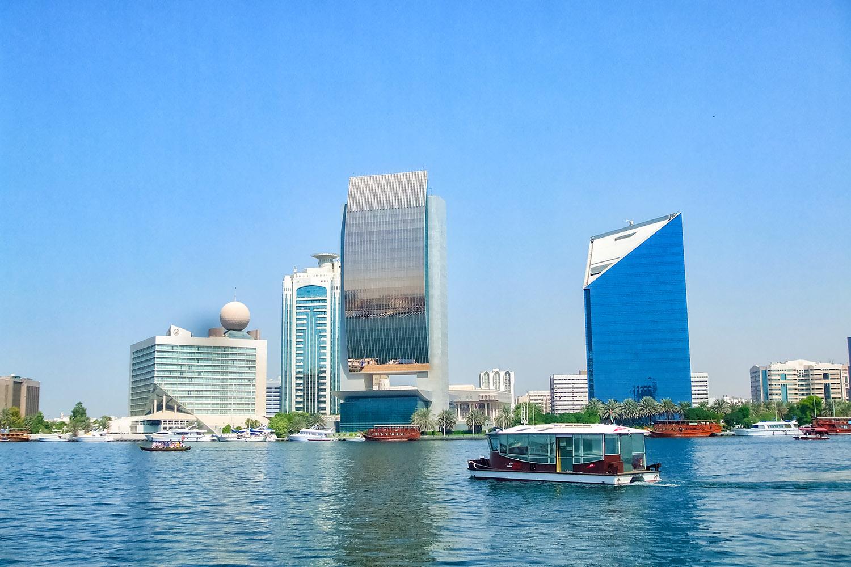 アラブ首長国連邦の大都市ドバイ