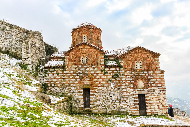 世界遺産ベラト、歴史地区の古い教会