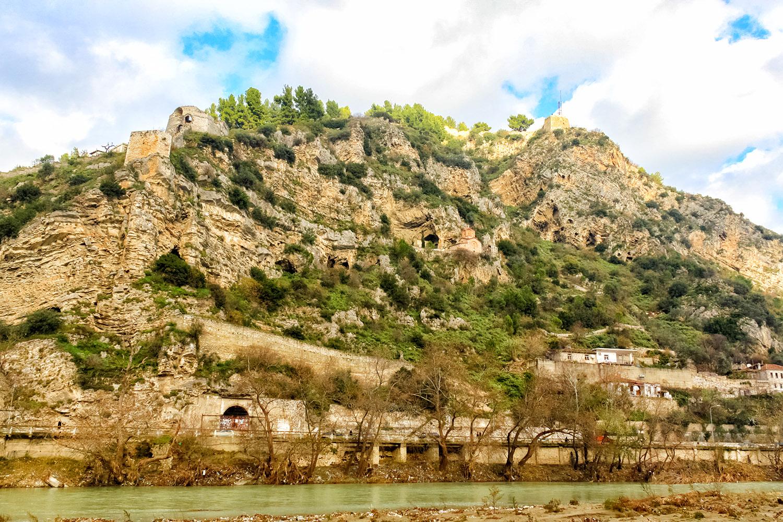 旧オスマン帝国、アルバニア・ベラトの居城