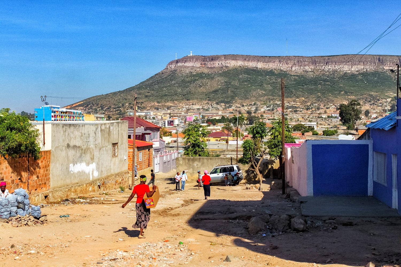 ルバンゴに広がる緑の台地