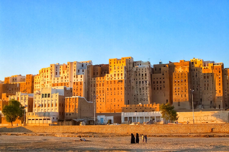 城壁都市シバーム