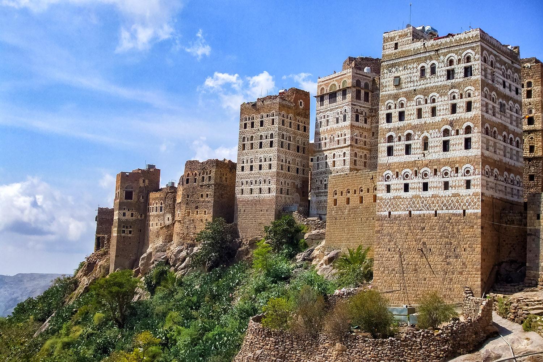 アルハジャラ山岳建築