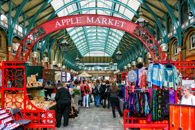 ロンドンの台所 アップルマーケット 無料壁紙 商用利用可の画像
