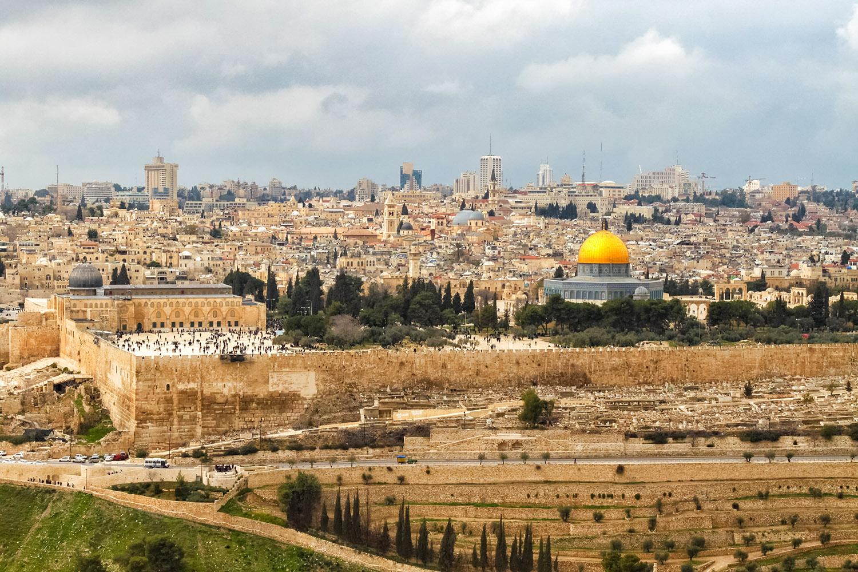 パレスチナとイスラエル、エルサレム旧市街