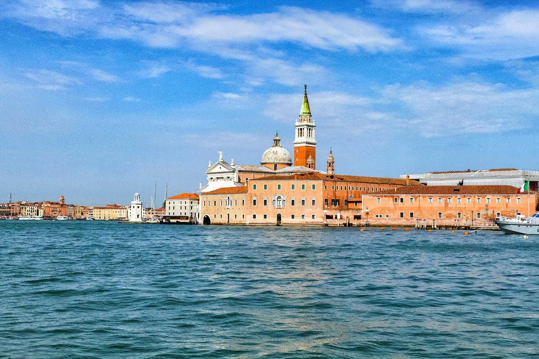 ベネチアの教会島、サンジョルジョマッジョーレ教会