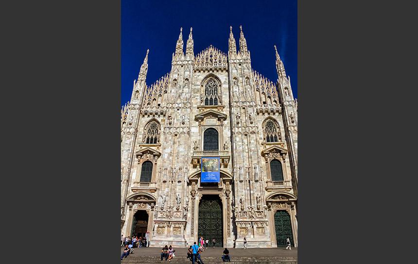 世界で二番目に大きな聖堂、ミラノのドゥオーモ