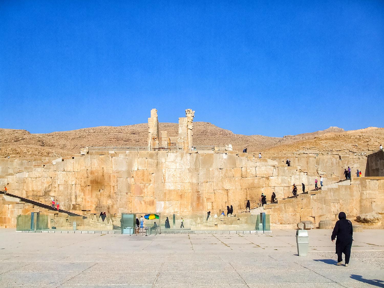 イランの観光スポット、世界遺産ペルセポリス