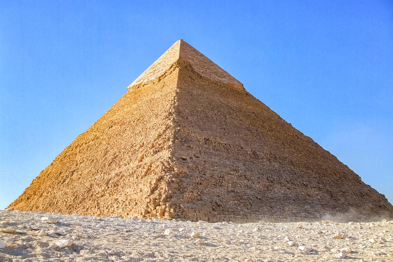 ギザ三大ピラミッド、カフラー王のピラミッド