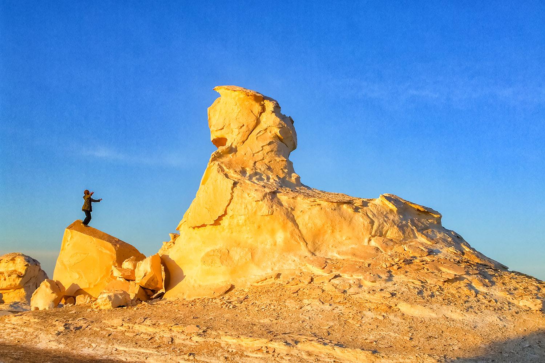 エジプト白砂漠