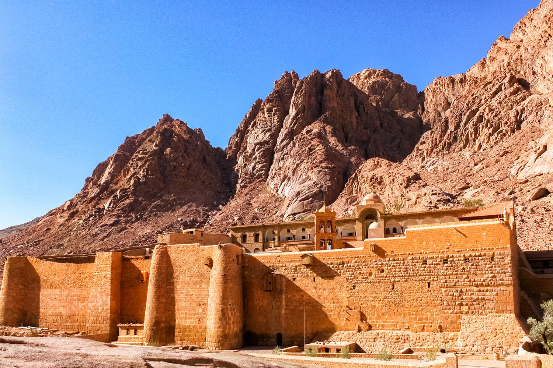 エジプト世界遺産・シナイ山の聖カトリーナ修道院