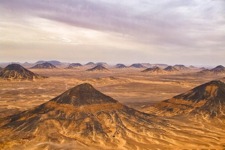 エジプト黒砂漠