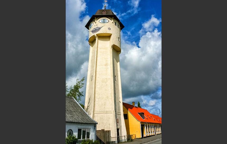 ロラン島の給水塔