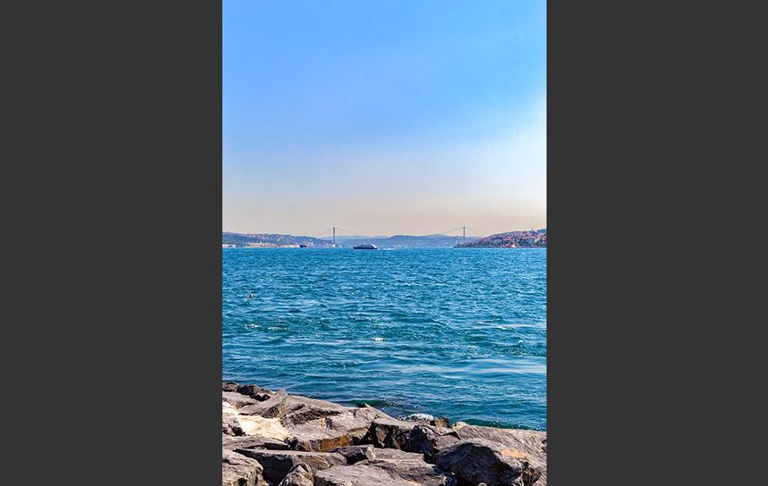大陸を分ける海、ボスポラス海峡