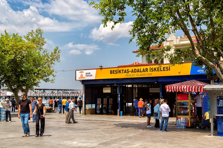 イスタンブール、カルケドン公会議はこの地区で