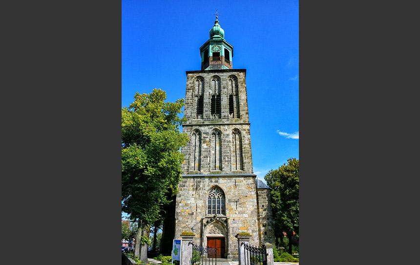 ドイツとオランダ国境の町、ノルトホルンの教会