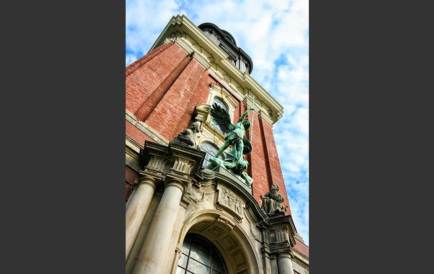 ハンブルクのシンボル、聖ミヒャエル教会