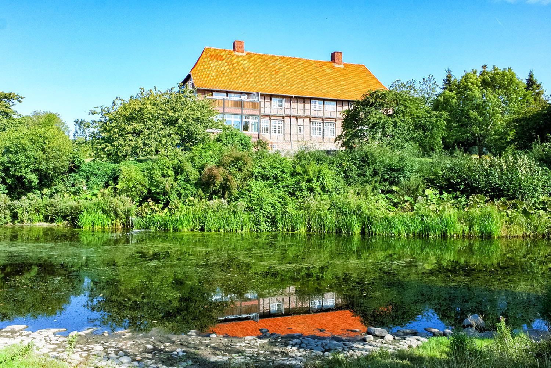 のどかな時間が流れるドイツの農村風景