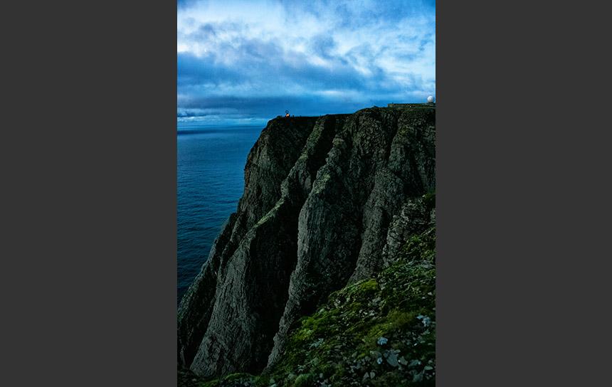 欧州北端ノールカップ、驚異の崖