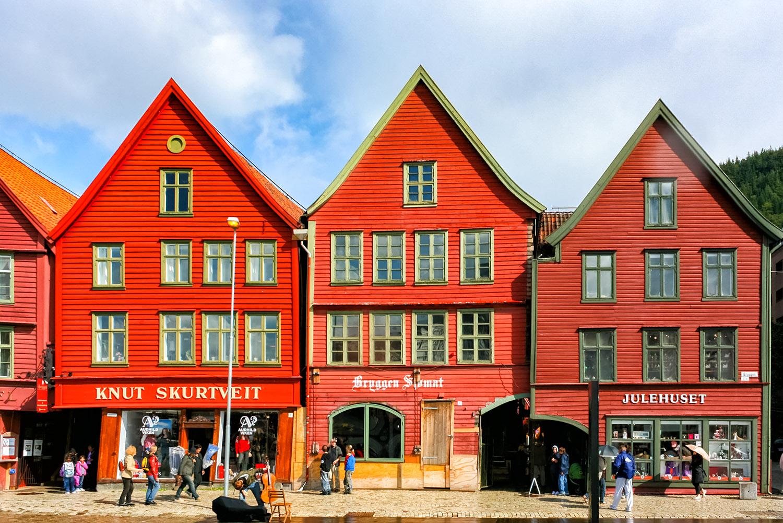 ブリッゲンの倉庫