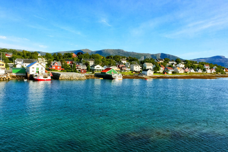 真夏のノルウェー、緑の北極圏
