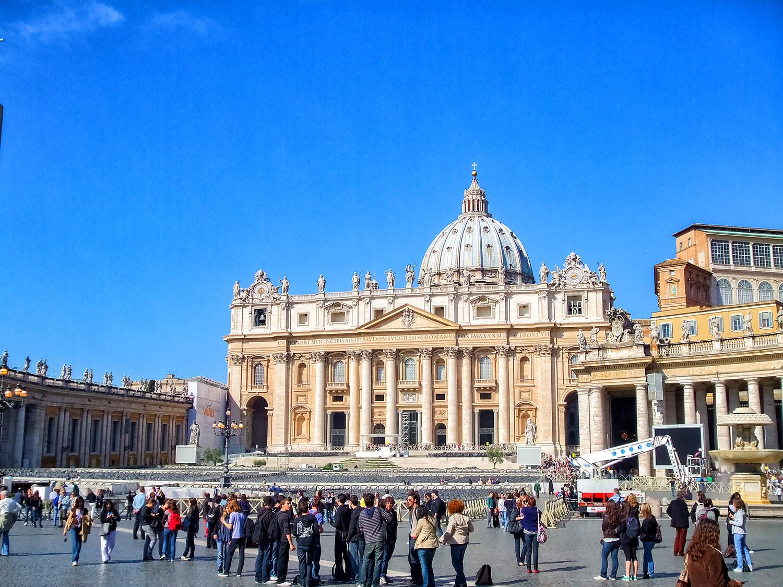 カトリックの総本山バチカンの教会