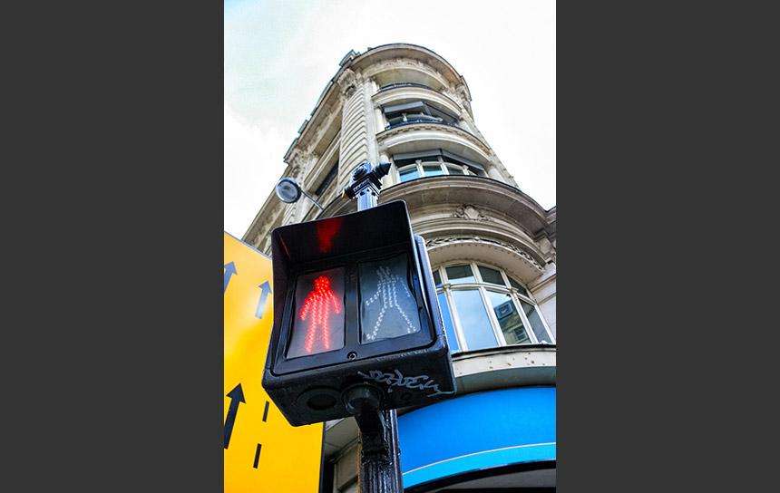 パリの信号