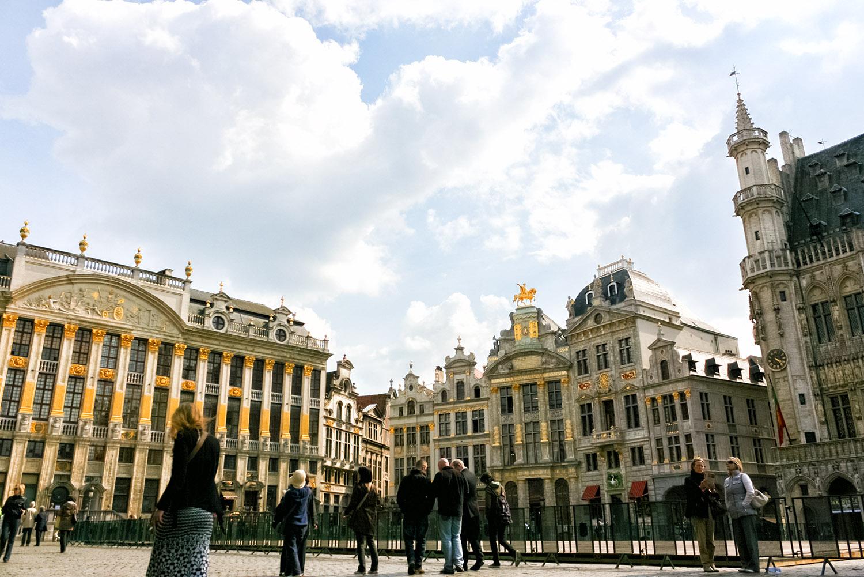 ベルギー世界遺産、ブリュッセルのグラン・プラスの建物群