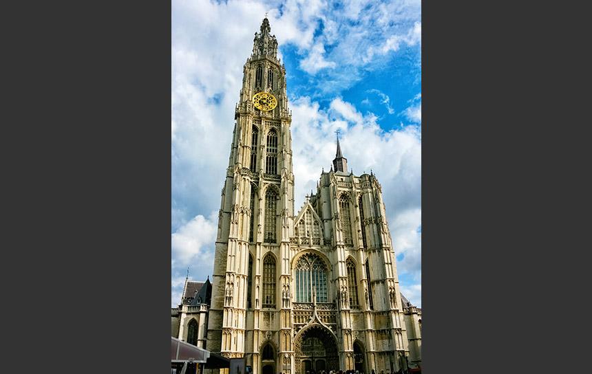 世界遺産アントワープのノートルダム大聖堂