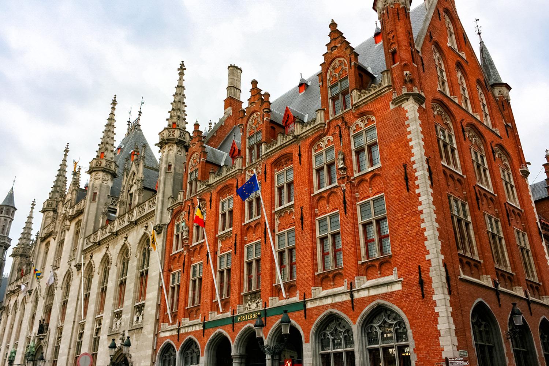 ハンザ同盟の主要都市だったベルギーのブルージュ