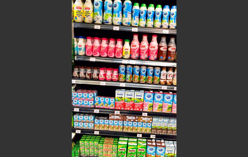 マレーシアのスーパー