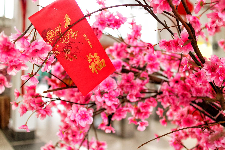 マレーシアの花飾り