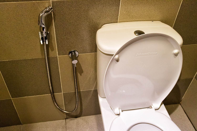 マレーシアのトイレシャワー