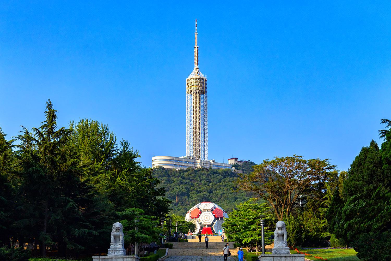大連の観光塔
