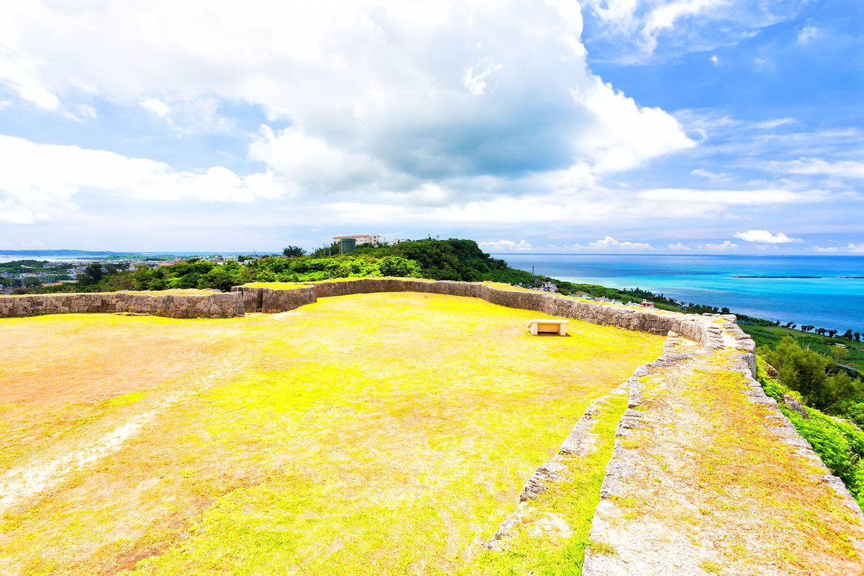琉球を今に伝える勝連城の城跡