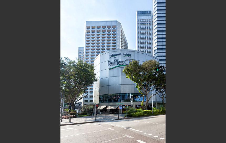 地下がすごい!シンガポール中心部の巨大モール
