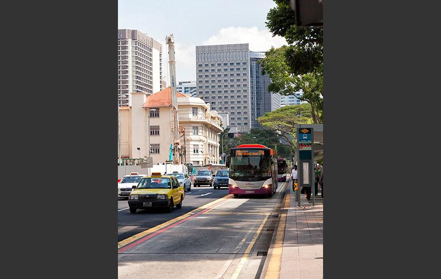 とても便利なシンガポールの路線バス