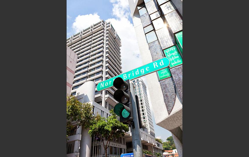 シンガポールの大動脈、ノースブリッジロード