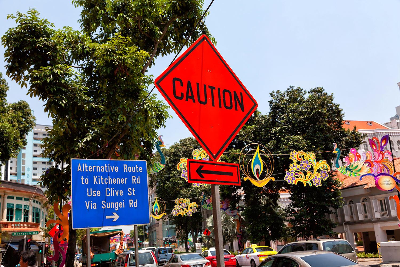 極彩色のシンガポール・リトルインディア