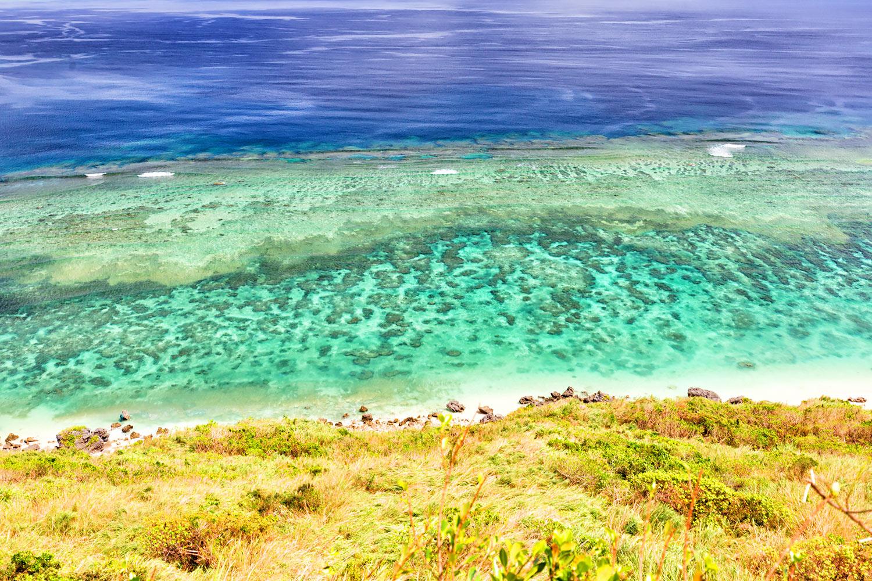 きれいさは世界一!晩夏の沖縄、リーフと海水