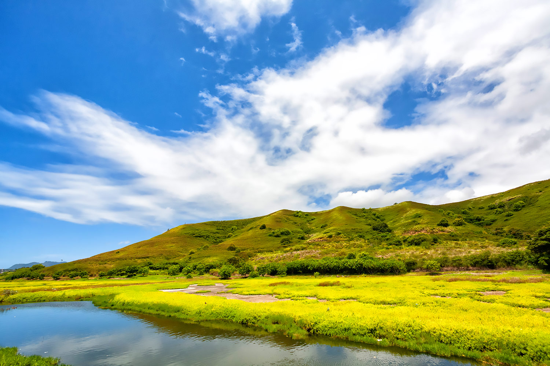 ハワイ・オアフ島、青空のマーシー