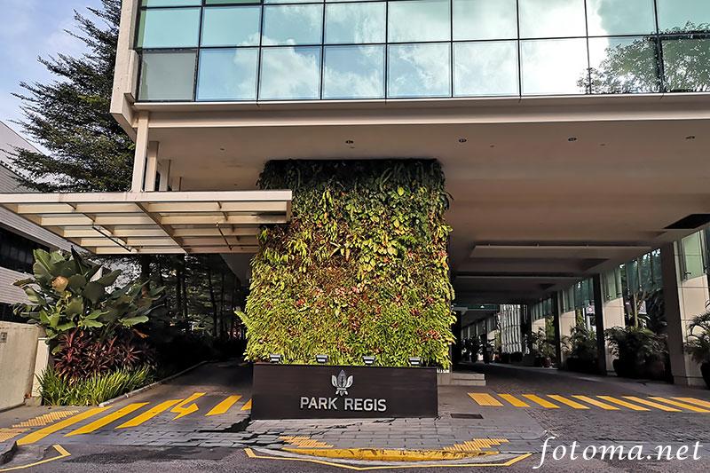 パークレジスシンガポールに泊まった感想。立地が良くておしゃれなホテル!