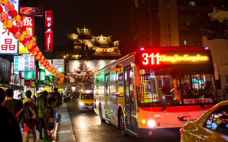 気軽に乗ろう!観光にも便利な台湾路線バス